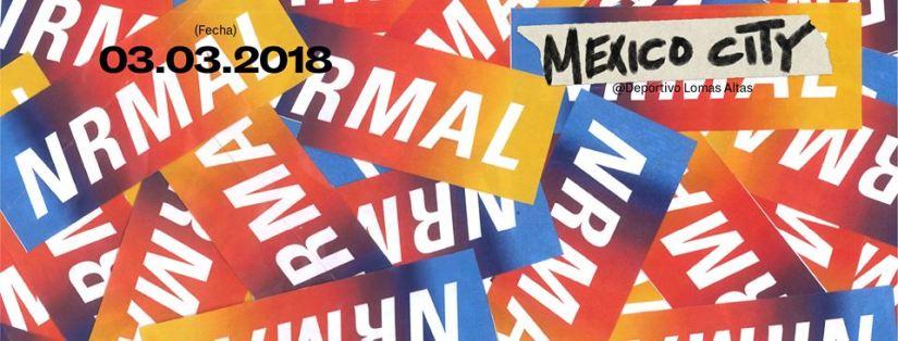 NRMAL 2018: Lineupoficial