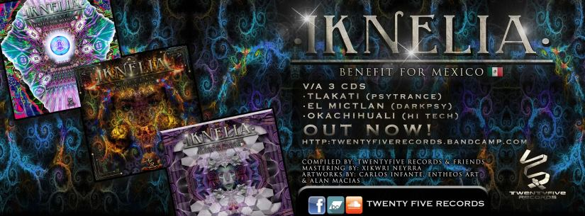 Twenty-five Records presenta Iknelia