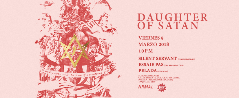 Daughter of Satan 2018: Noches de fiesta techno
