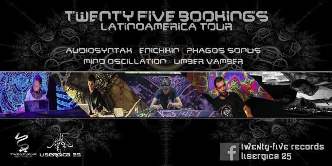 twenty five bookings